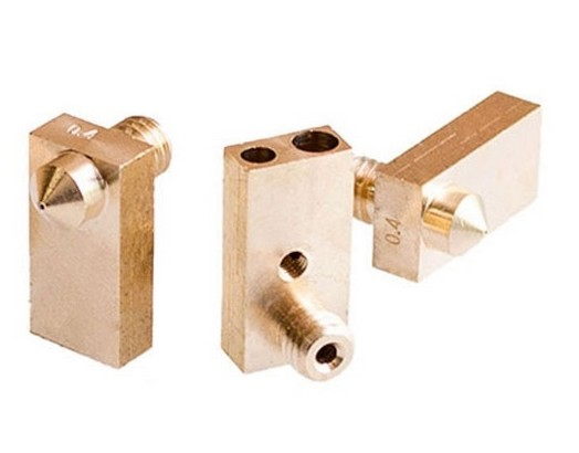 Bloc cupru - Heater Block 0,4mm/1,75mm